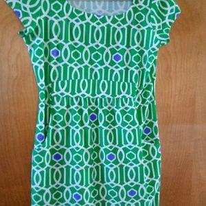 Jude Connally Sz M Green Dress
